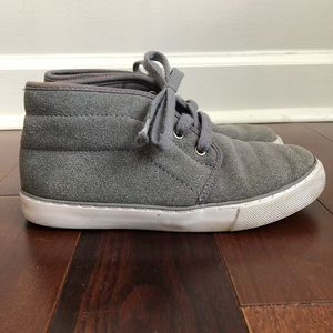 CHILDRENS PLACE Boys Gray Chukka Boots Sneakers